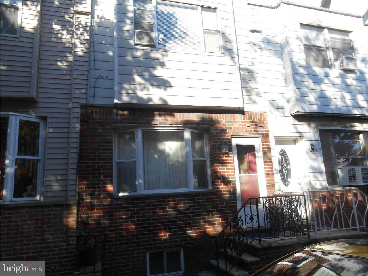 Casa unifamiliar adosada (Townhouse) por un Venta en 2606 S HUTCHINSON Street Philadelphia, Pennsylvania 19148 Estados Unidos
