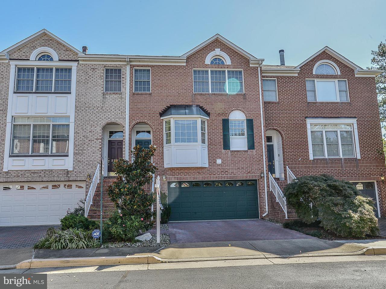 タウンハウス のために 売買 アット 8102 MADRILLON Court 8102 MADRILLON Court Vienna, バージニア 22182 アメリカ合衆国