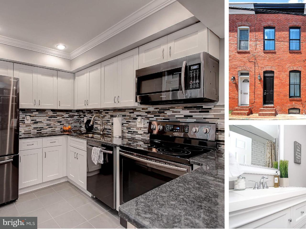 Single Family for Sale at 108 Madeira St N Baltimore, Maryland 21231 United States