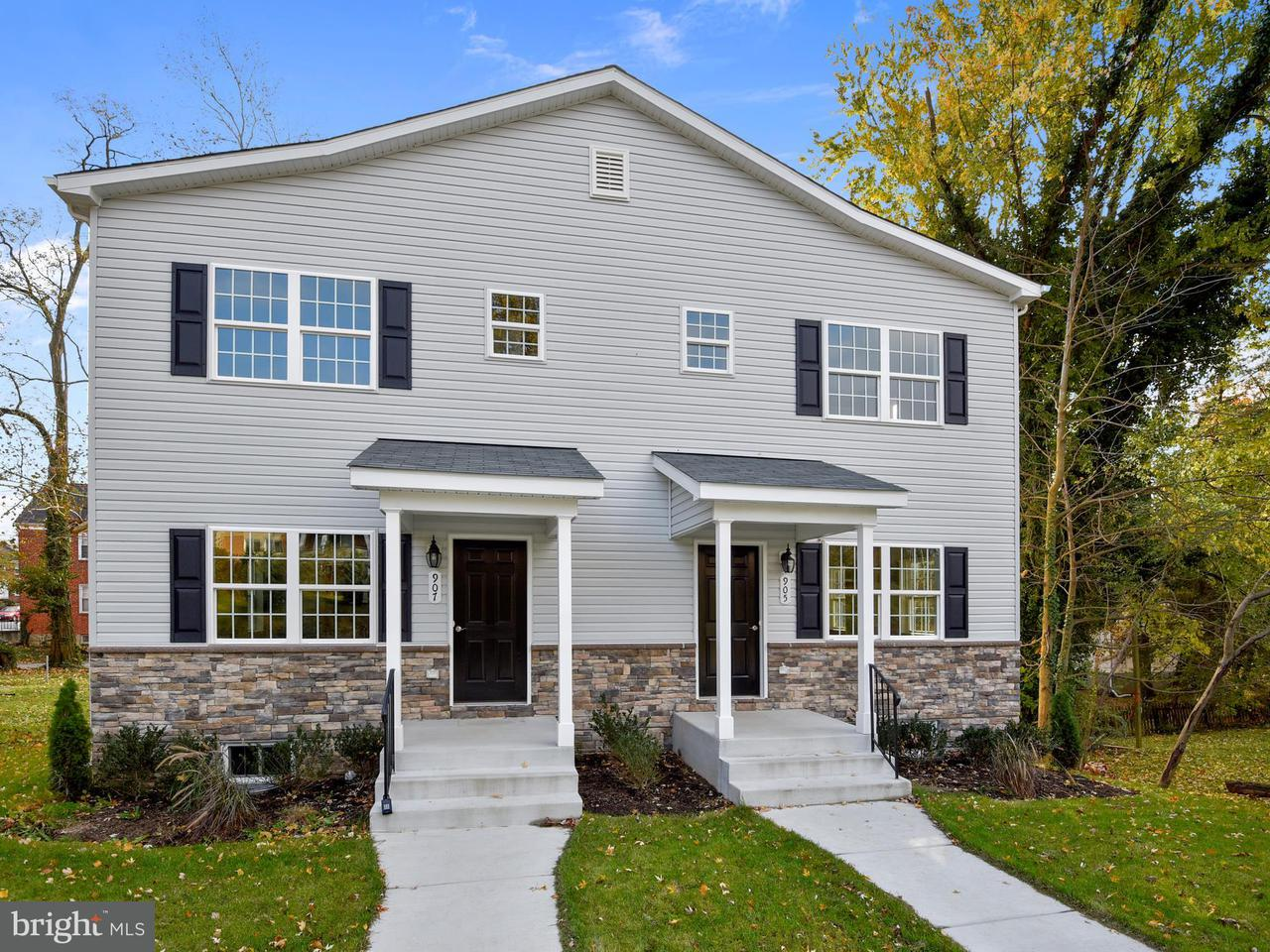 Single Family for Sale at 907 Cedarcroft Rd Baltimore, Maryland 21212 United States