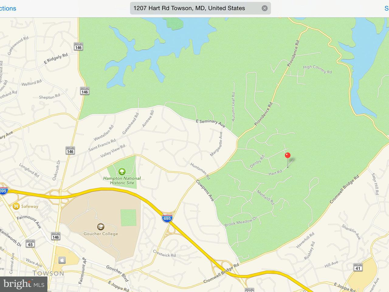 Land for Sale at 1207 Hart Rd Towson, Maryland 21286 United States