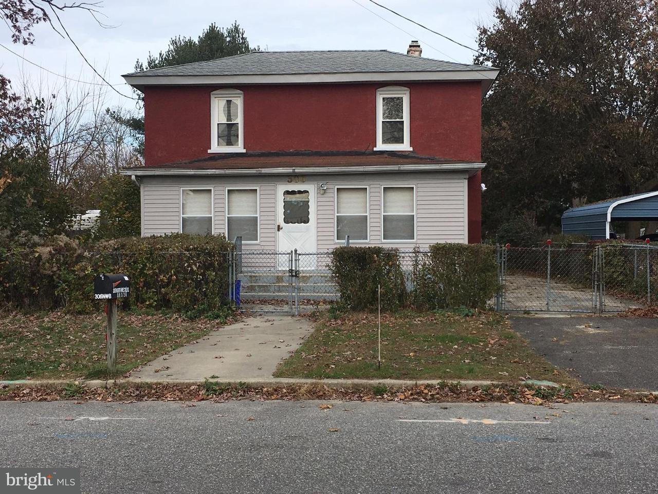 Maison unifamiliale pour l à louer à 306 N WEST BLVD Landisville, New Jersey 08326 États-Unis