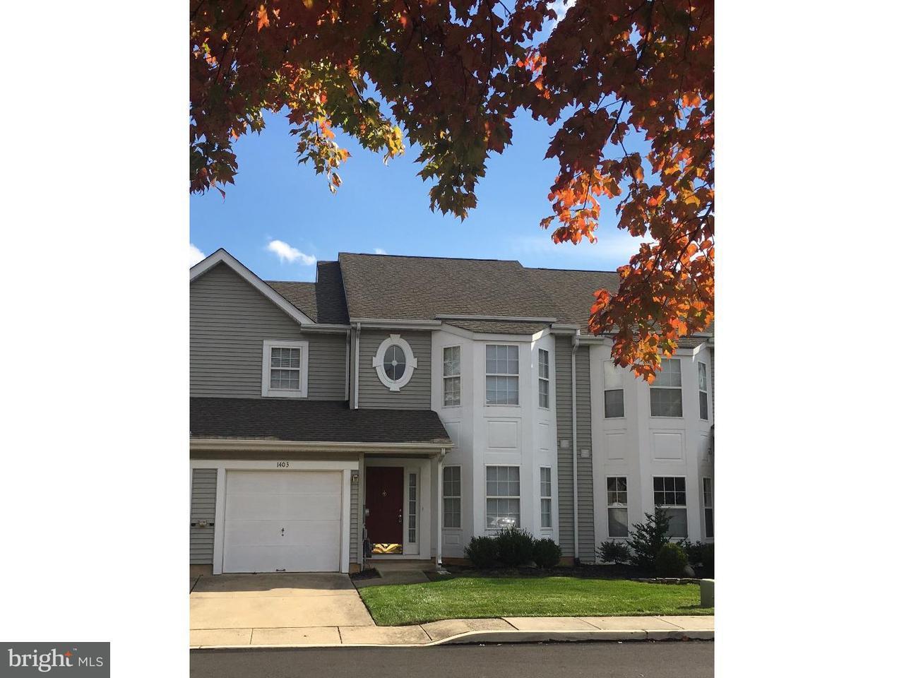 Maison accolée pour l à louer à 1403 LIBERTY Court North Wales, Pennsylvanie 19454 États-Unis