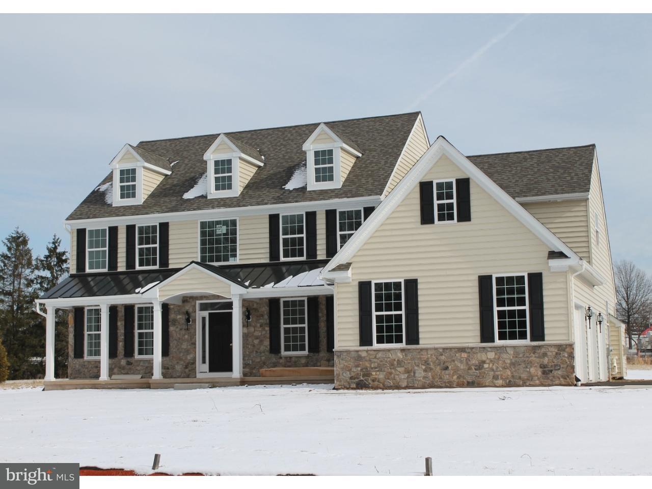 Частный односемейный дом для того Продажа на 2210 WEBER Road Lansdale, Пенсильвания 19446 Соединенные Штаты