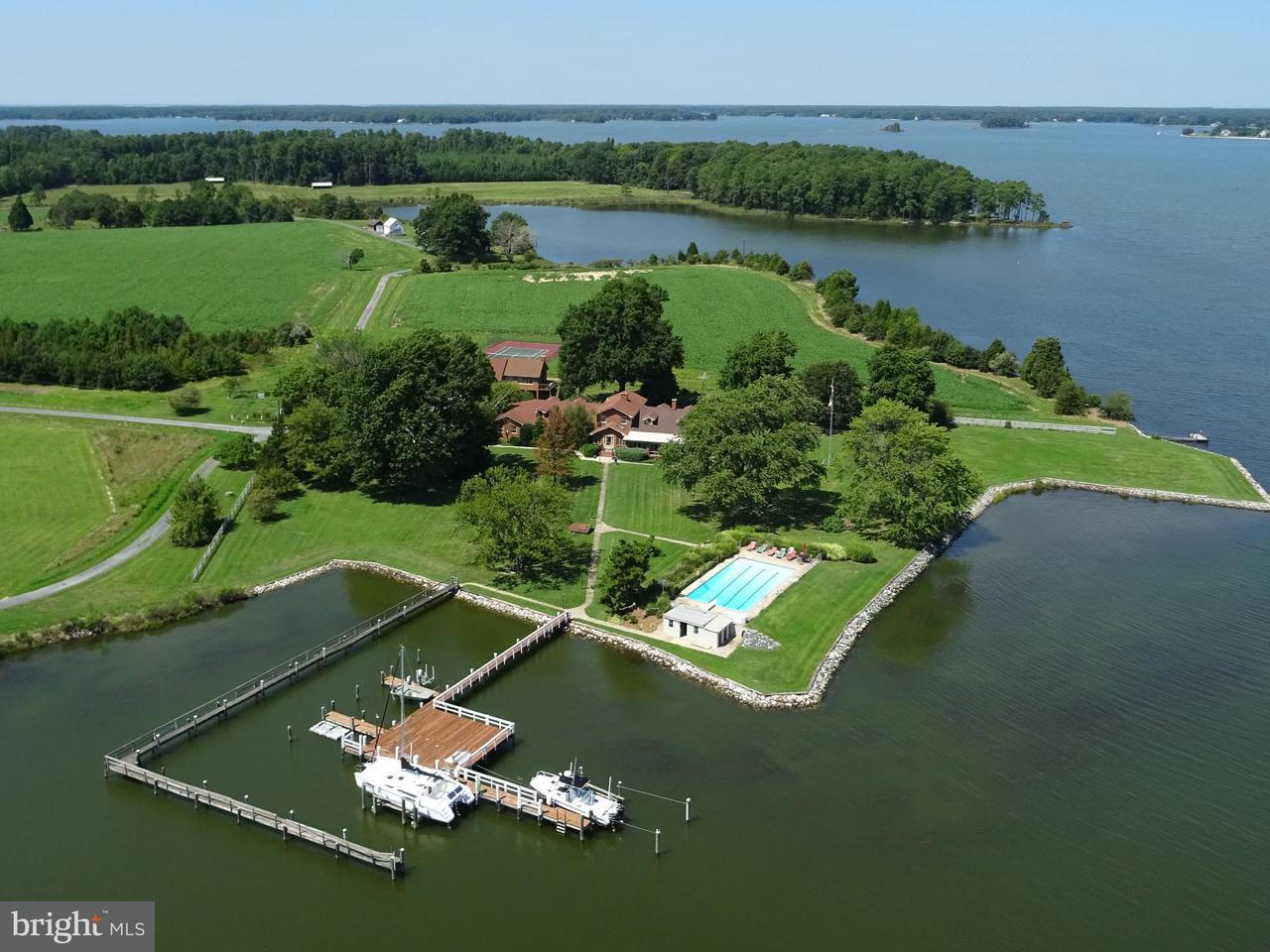 独户住宅 为 销售 在 6431 CEDAR COVE Road 6431 CEDAR COVE Road Royal Oak, 马里兰州 21662 美国
