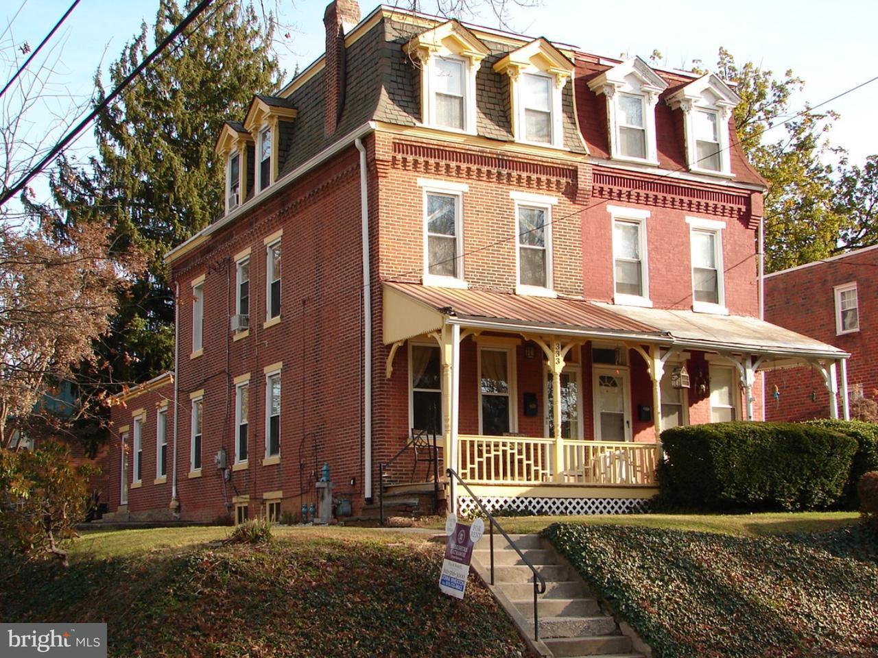 Casa unifamiliar adosada (Townhouse) por un Alquiler en 333 N ORANGE Street Media, Pennsylvania 19063 Estados Unidos