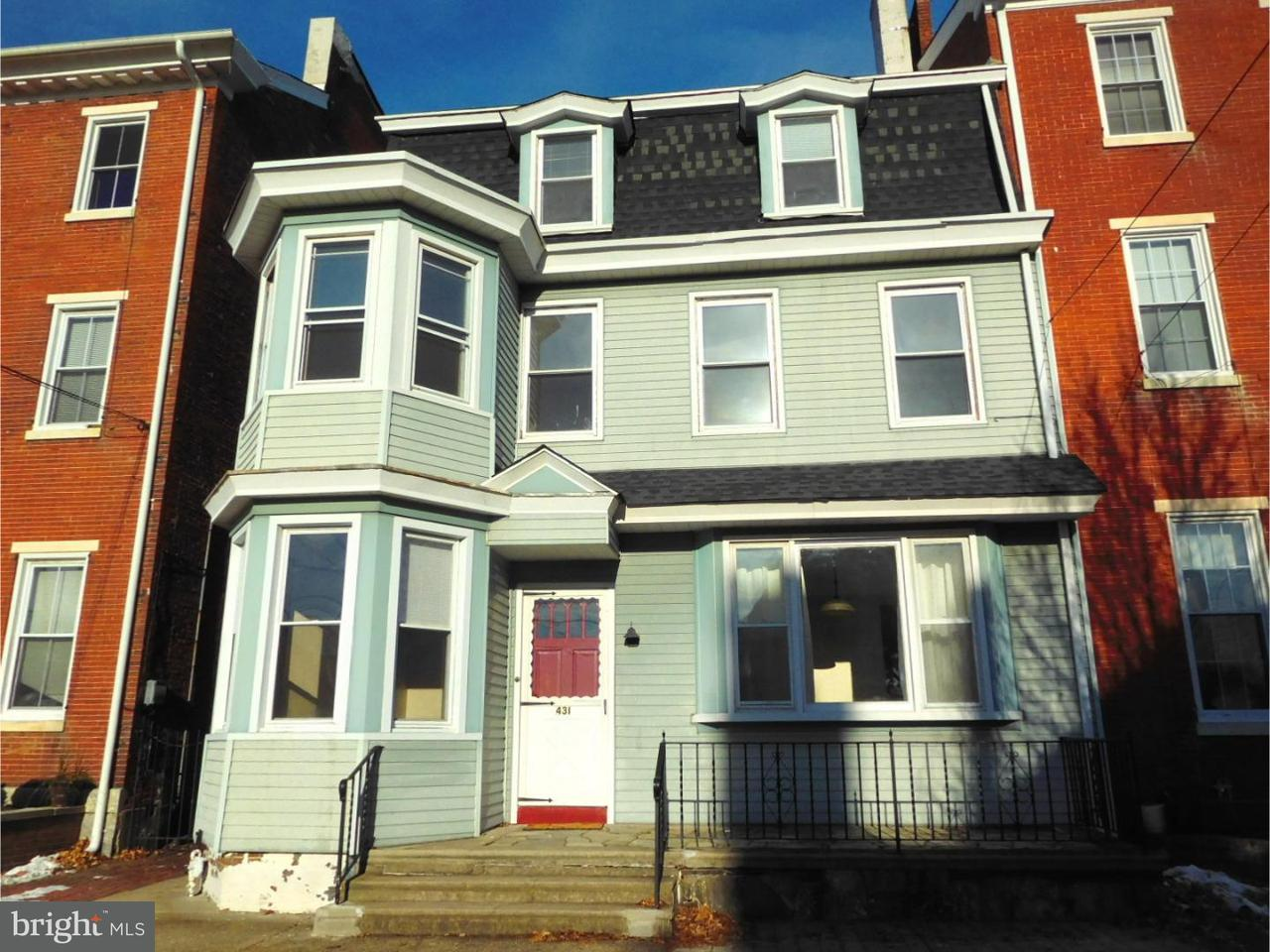 Single Family Home for Rent at 431 RADCLIFFE ST #3RD FL Bristol, Pennsylvania 19007 United States