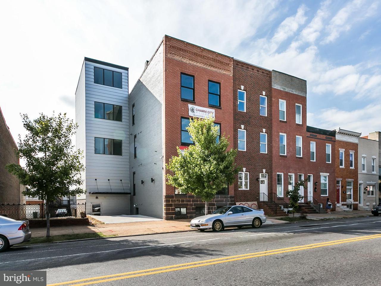 Huis voor meerdere gezinnen voor Verkoop een t 320 HIGHLAND AVE S 320 HIGHLAND AVE S Baltimore, Maryland 21224 Verenigde Staten