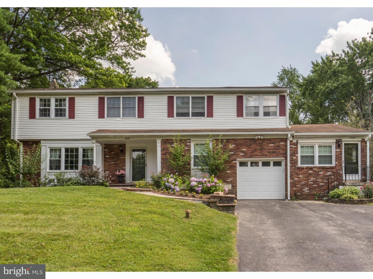 Maison unifamiliale pour l Vente à 106 ALLEN Drive Exton, Pennsylvanie 19341 États-Unis