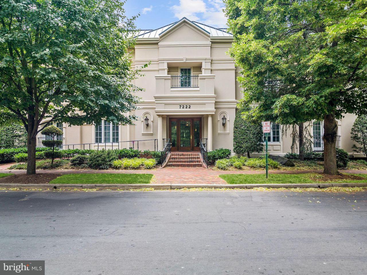 Maison accolée pour l Vente à 7222 47th St #R-2 7222 47th St #R-2 Chevy Chase, Maryland 20815 États-Unis