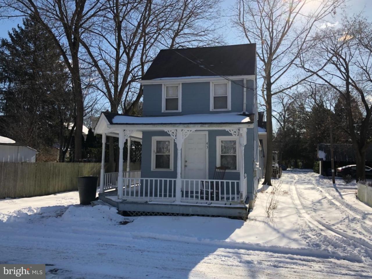 独户住宅 为 出租 在 43 MULBERRY Street Medford, 新泽西州 08055 美国