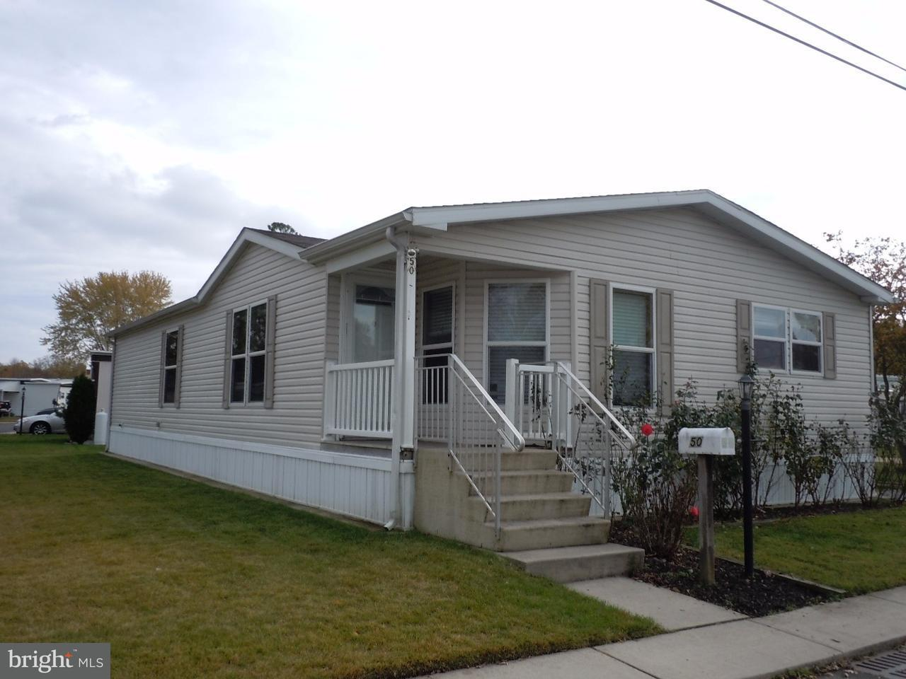 Maisons mobiles pour l Vente à 50 ESTATE Road Southampton, New Jersey 08088 États-Unis