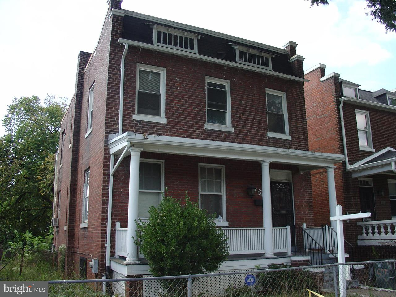 Single Family Home for Sale at 1505 NEAL ST NE 1505 NEAL ST NE Washington, District Of Columbia 20002 United States