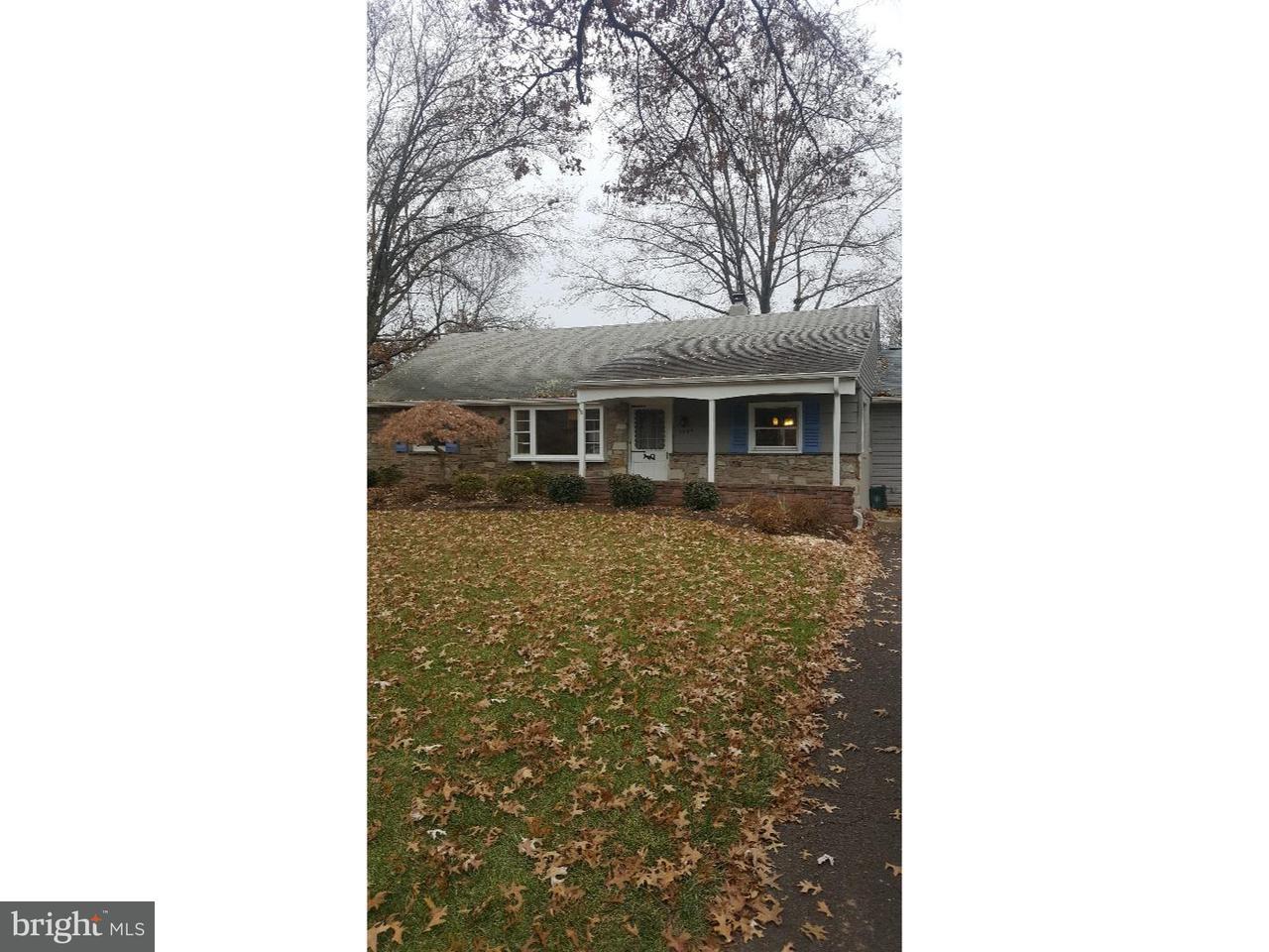 Частный односемейный дом для того Аренда на 1544 GARDEN Road Lansdale, Пенсильвания 19446 Соединенные Штаты