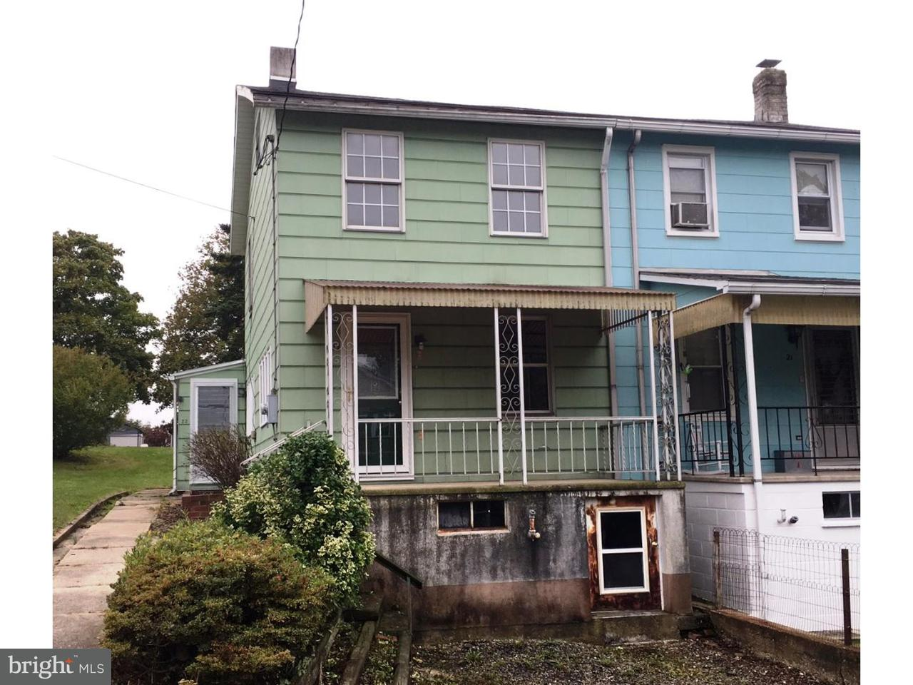 Townhouse for Sale at 22 S MAIN Street Mary D, Pennsylvania 17952 United States
