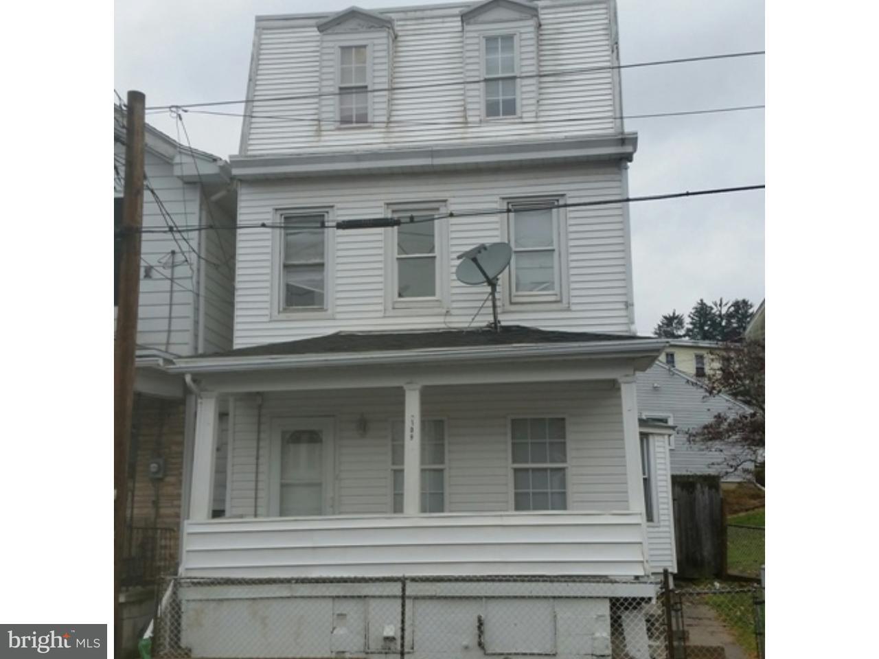 Casa Unifamiliar por un Venta en 109 COAL Street Cumbola, Pennsylvania 17930 Estados Unidos