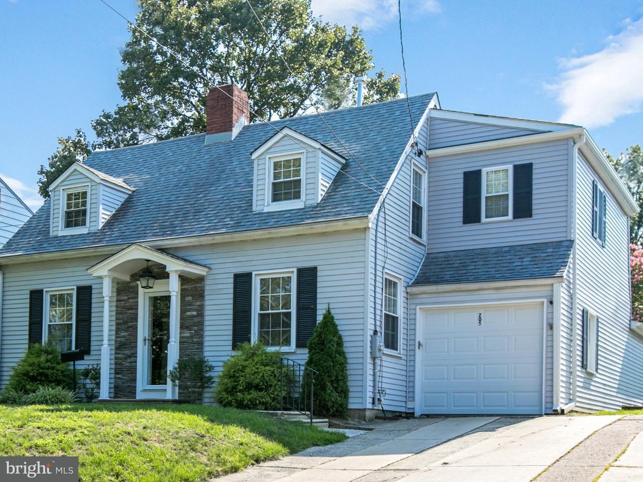 Casa Unifamiliar por un Venta en 205 HARDING Avenue Haddon Township, Nueva Jersey 08108 Estados Unidos