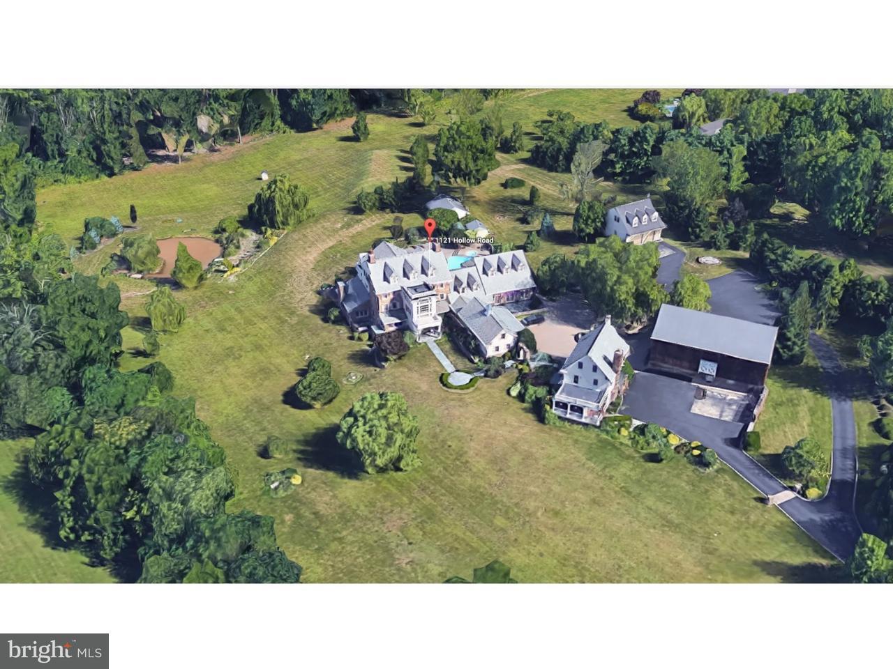 Maison unifamiliale pour l Vente à 1121 HOLLOW Road Collegeville, Pennsylvanie 19426 États-Unis