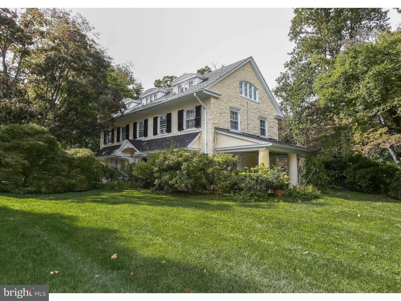 Maison unifamiliale pour l Vente à 211 ROBERTS Road Ardmore, Pennsylvanie 19003 États-Unis