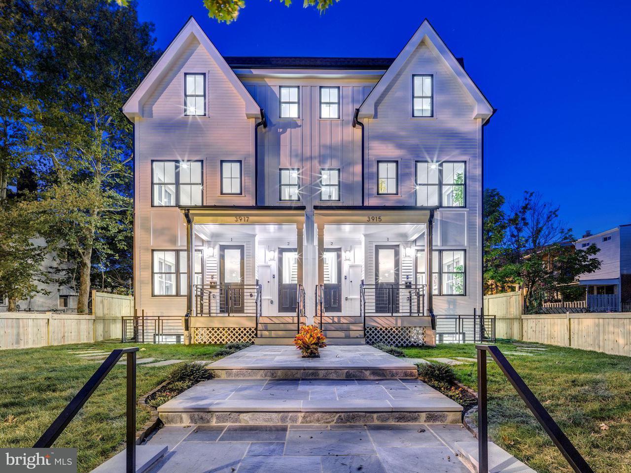 多棟聯建住宅 為 出售 在 3917 5TH ST NW #2 3917 5TH ST NW #2 Washington, 哥倫比亞特區 20011 美國