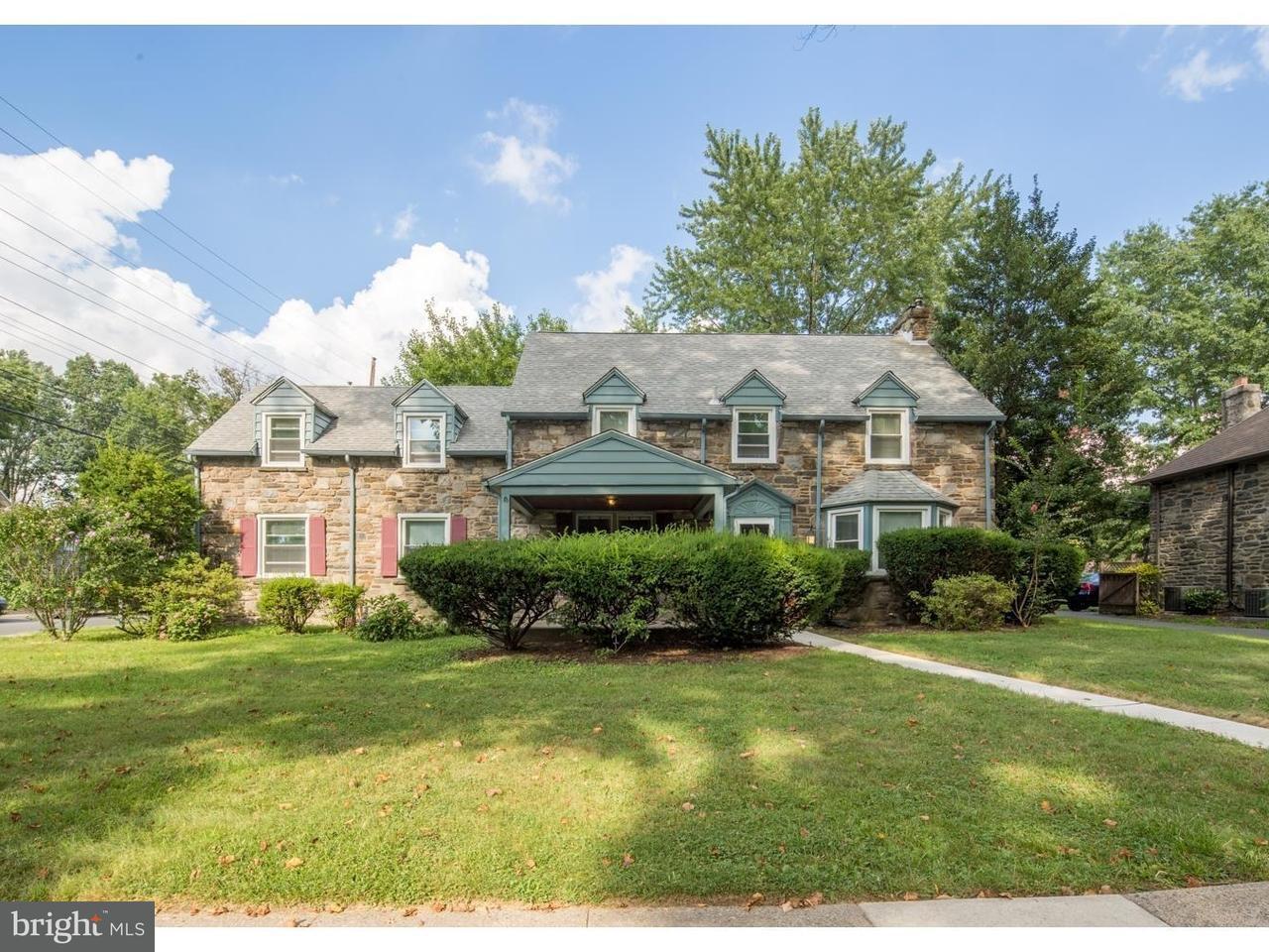 Частный односемейный дом для того Аренда на 1241 LINDALE Avenue Upper Darby, Пенсильвания 19026 Соединенные Штаты