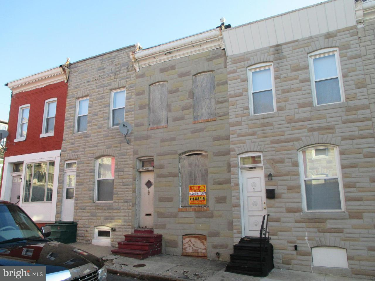 Photo of home for sale at 1719 Durham Street N, Baltimore MD