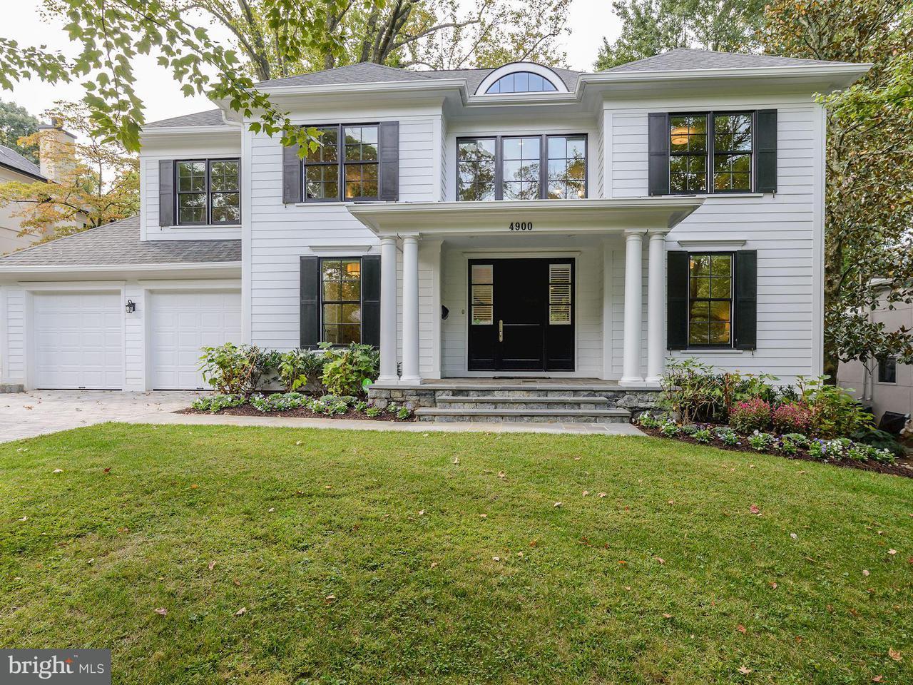 Casa Unifamiliar por un Venta en 4900 FALSTONE Avenue 4900 FALSTONE Avenue Chevy Chase, Maryland 20815 Estados Unidos