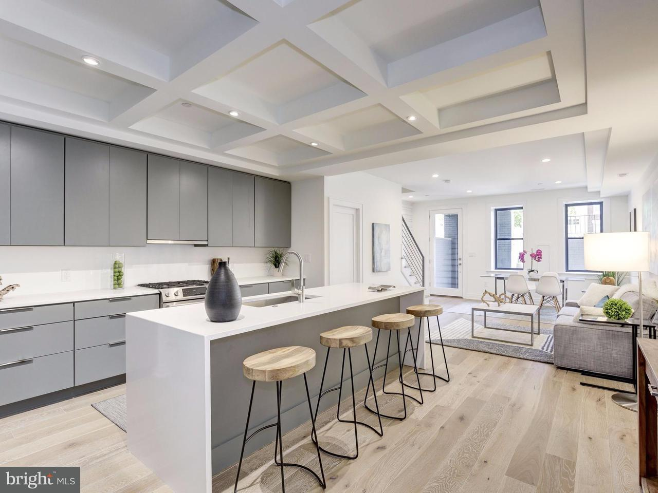 多棟聯建住宅 為 出售 在 1303 SPRING RD NW #1 1303 SPRING RD NW #1 Washington, 哥倫比亞特區 20010 美國