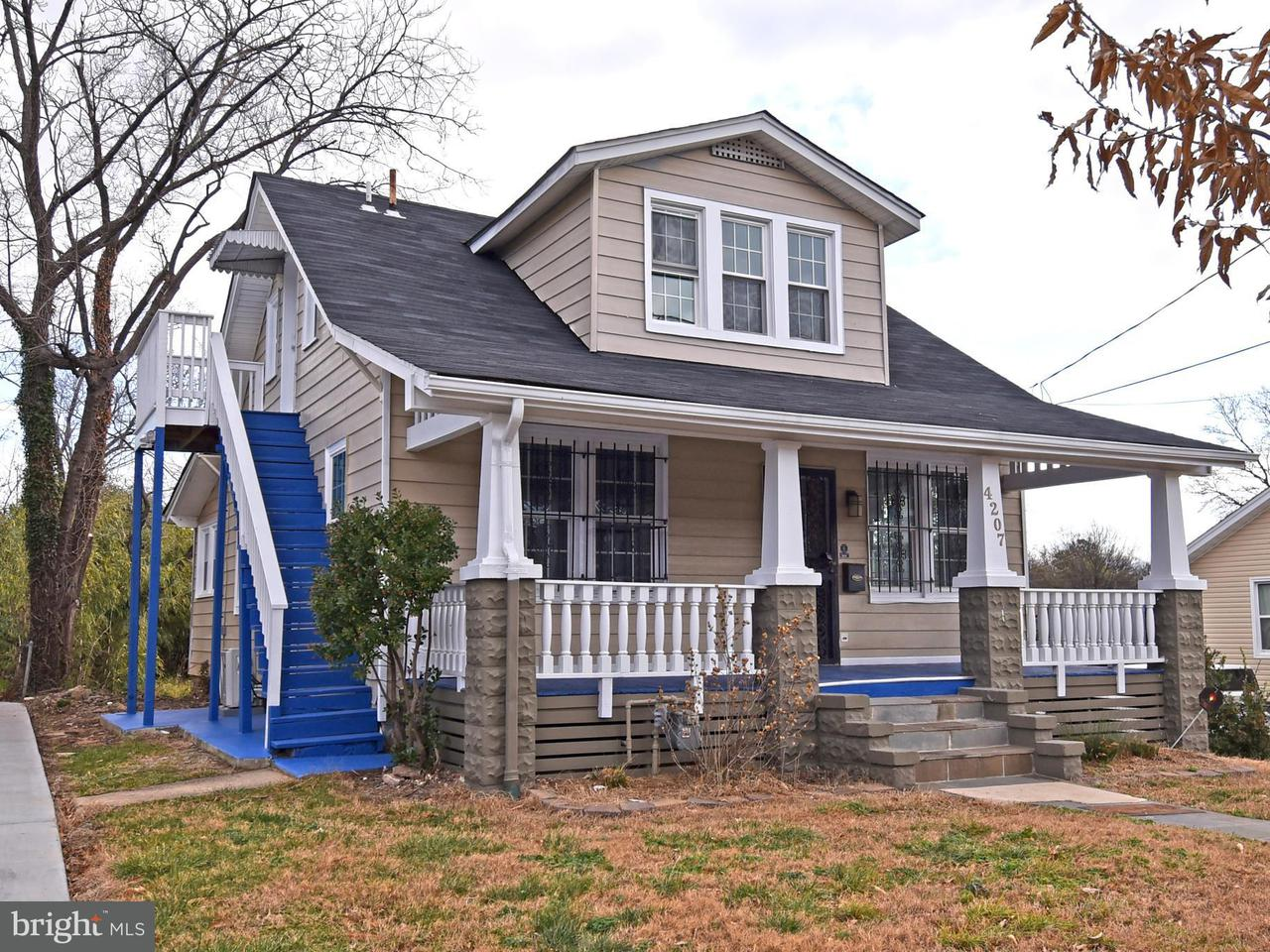 Single Family Home for Sale at 4207 28TH Street 4207 28TH Street Mount Rainier, Maryland 20712 United States