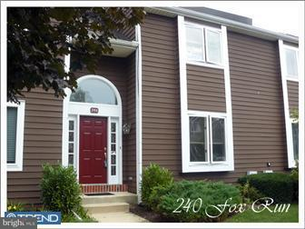 Townhouse for Rent at 240 FOX RUN Exton, Pennsylvania 19341 United States