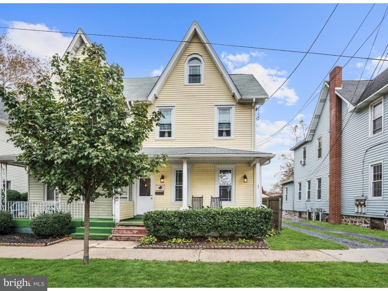 Townhouse for Sale at 515 HOWARD Street Riverton, New Jersey 08077 United States