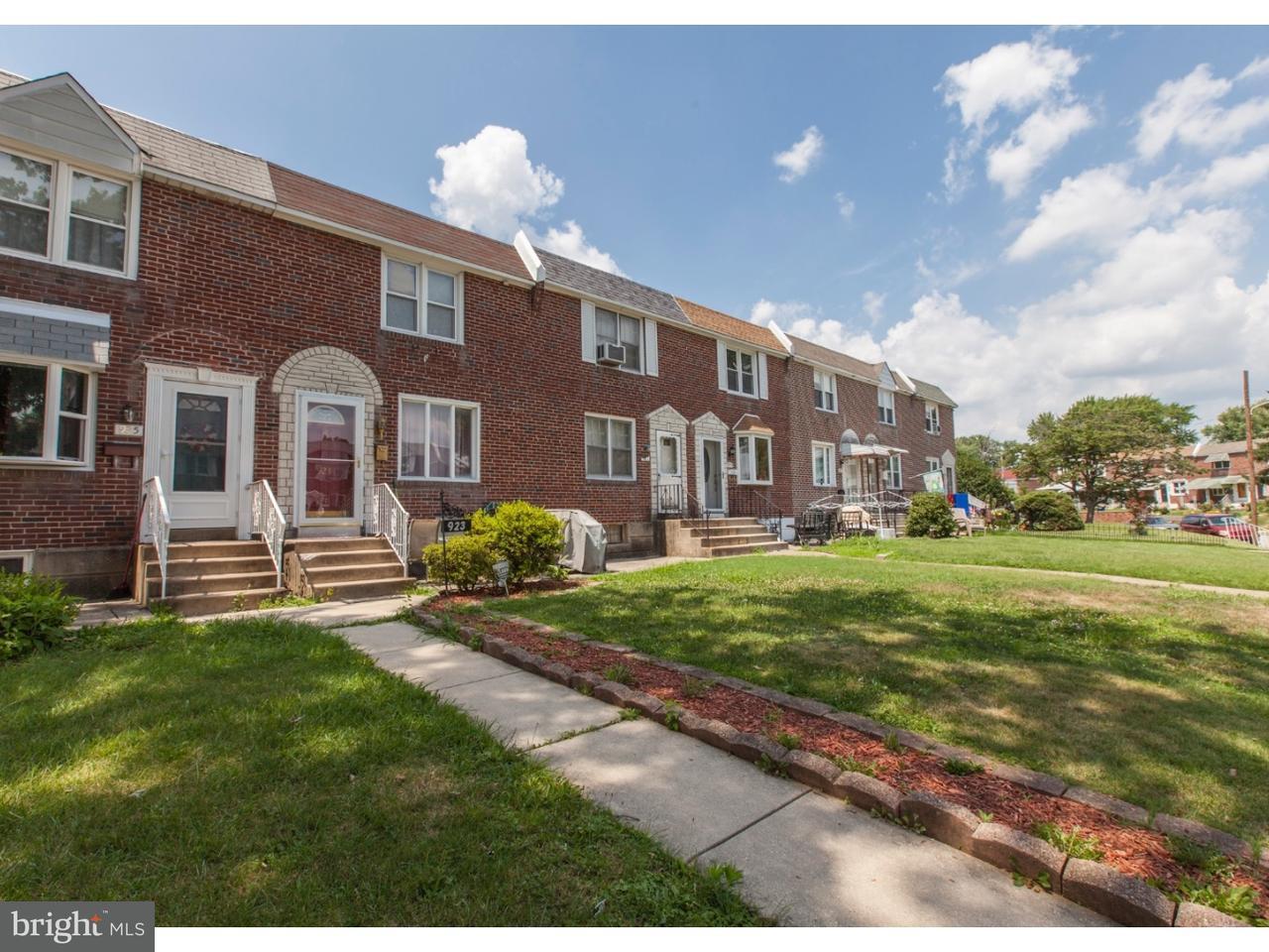 Maison accolée pour l à louer à 923 POPLAR Avenue Glenolden, Pennsylvanie 19036 États-Unis