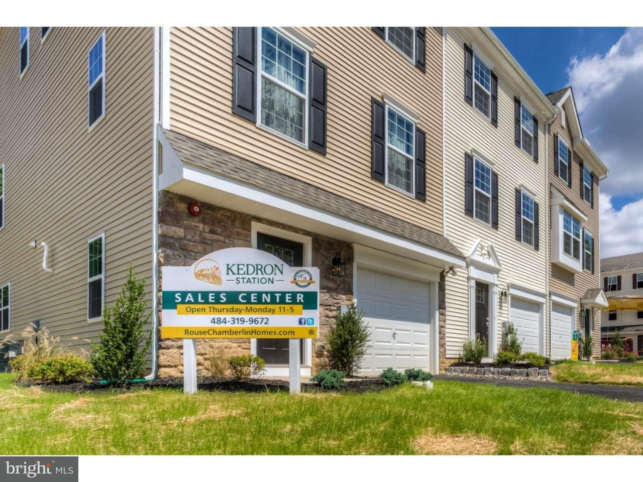 Townhouse for Sale at Lot #14 FARADAY Court Morton, Pennsylvania 19070 United States