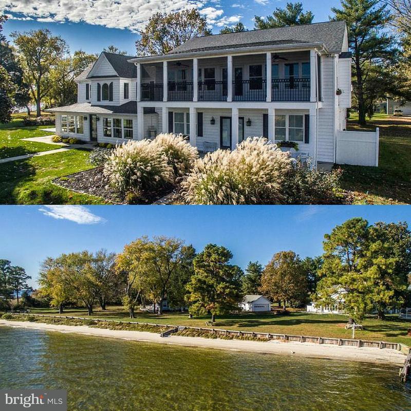 Частный односемейный дом для того Продажа на 3964 Oyster House Road 3964 Oyster House Road Broomes Island, Мэриленд 20615 Соединенные Штаты
