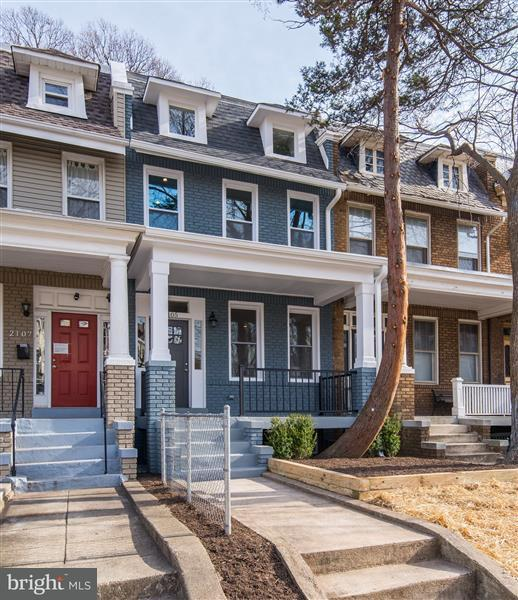 Townhouse for Sale at 2105 2ND ST NE 2105 2ND ST NE Washington, District Of Columbia 20002 United States