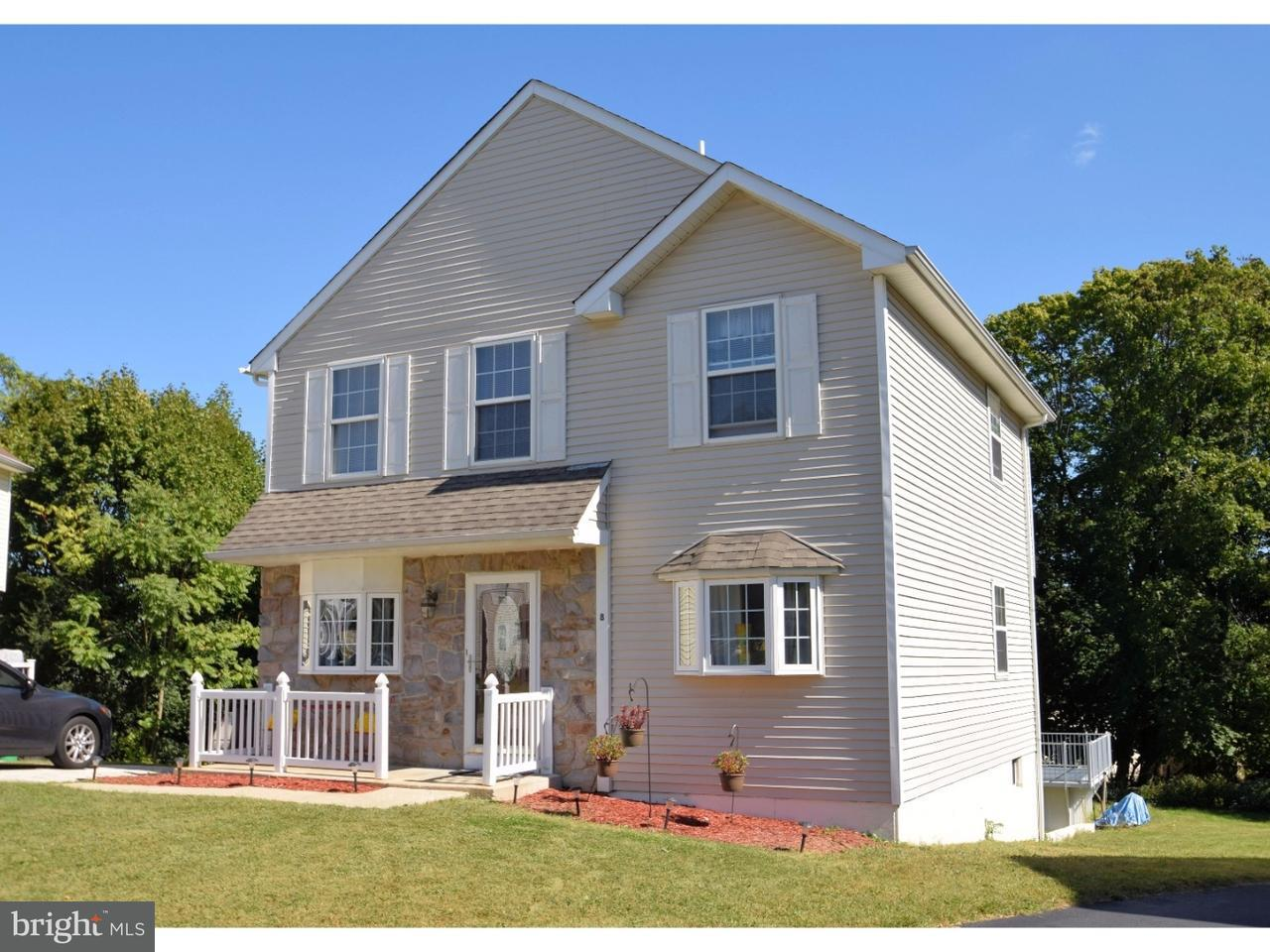 Single Family Home for Sale at 8 CHRISTINE Court Folcroft, Pennsylvania 19032 United States
