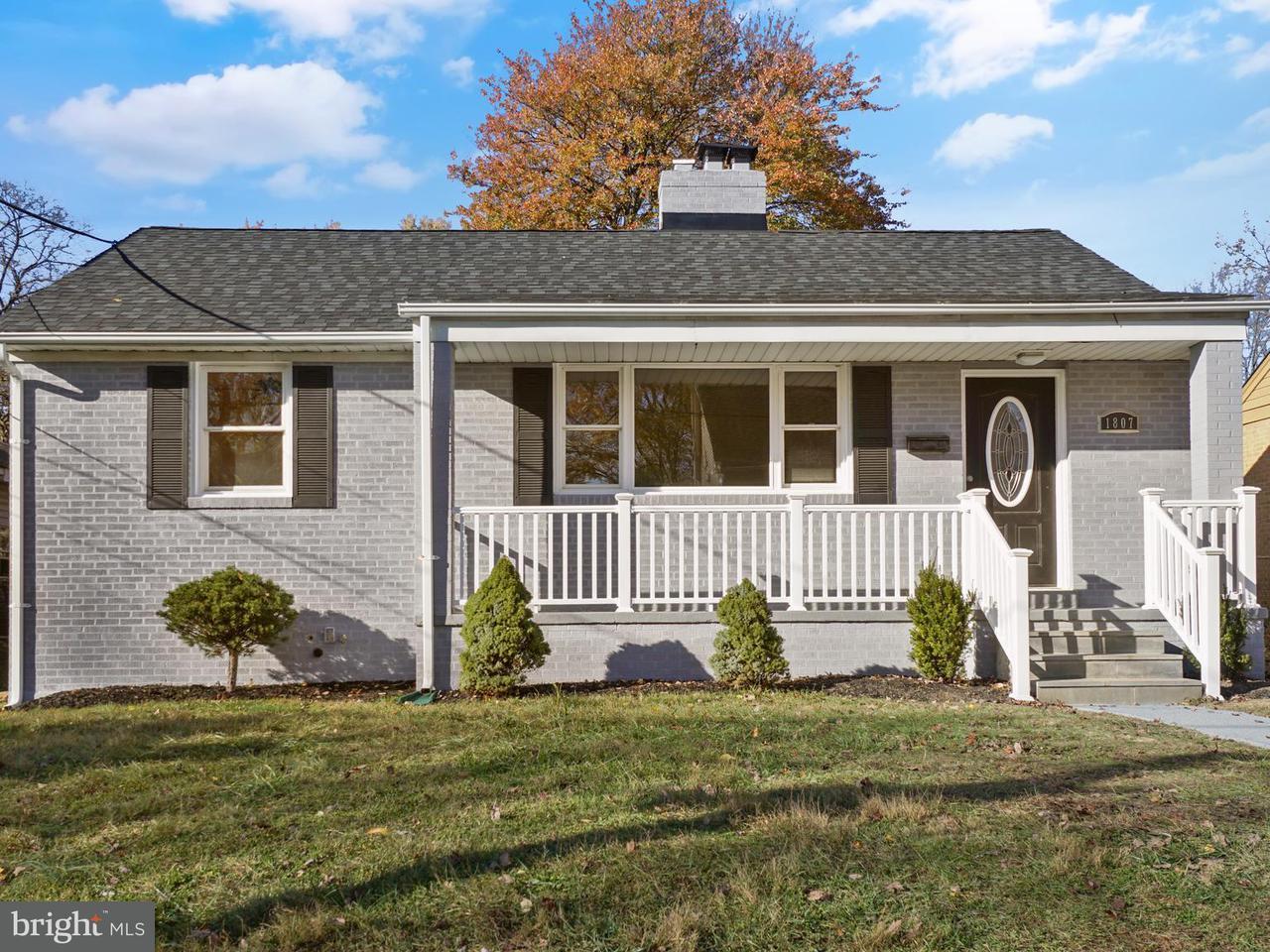 Single Family Home for Sale at 1807 ELDON Lane 1807 ELDON Lane Silver Spring, Maryland 20902 United States