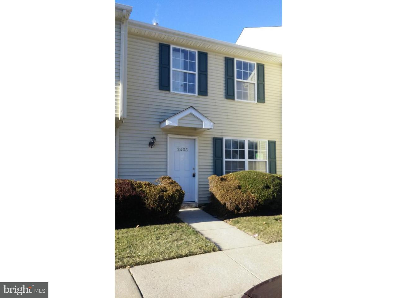 Townhouse for Rent at 2403 TALL PNES Pine Hill, New Jersey 08021 United States