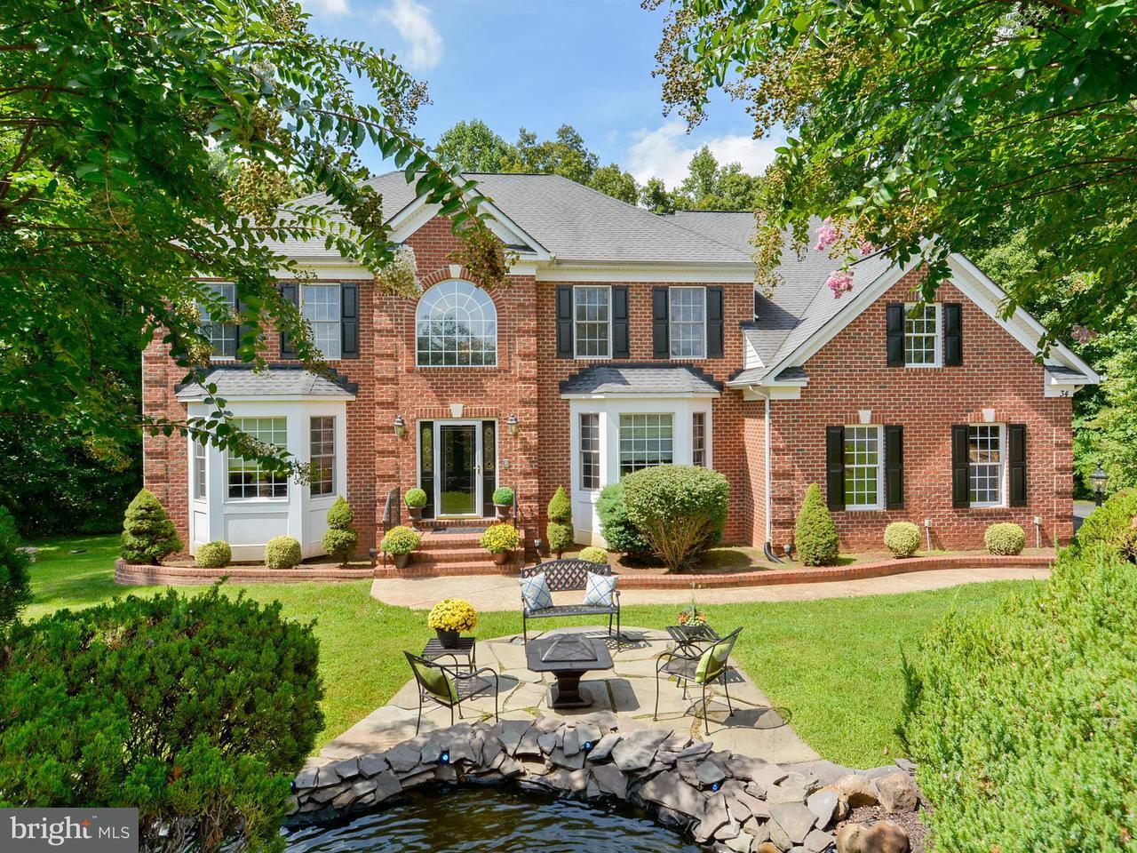 Casa Unifamiliar por un Venta en 34 WHIRLAWAY Drive 34 WHIRLAWAY Drive Stafford, Virginia 22556 Estados Unidos