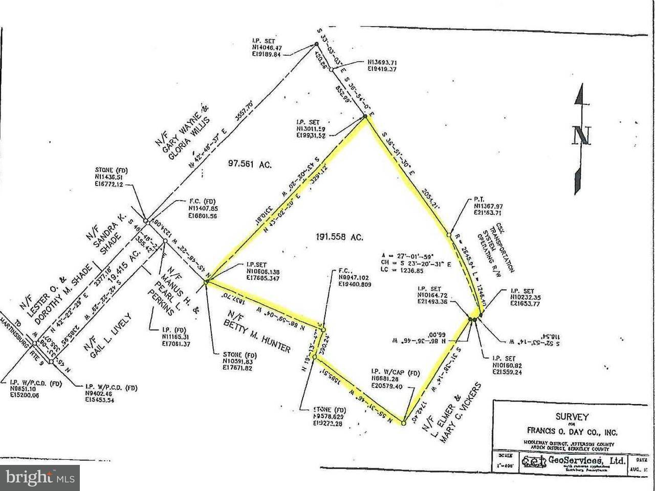 Land voor Verkoop een t Charles Town Road Road Charles Town Road Road Kearneysville, West Virginia 25430 Verenigde Staten