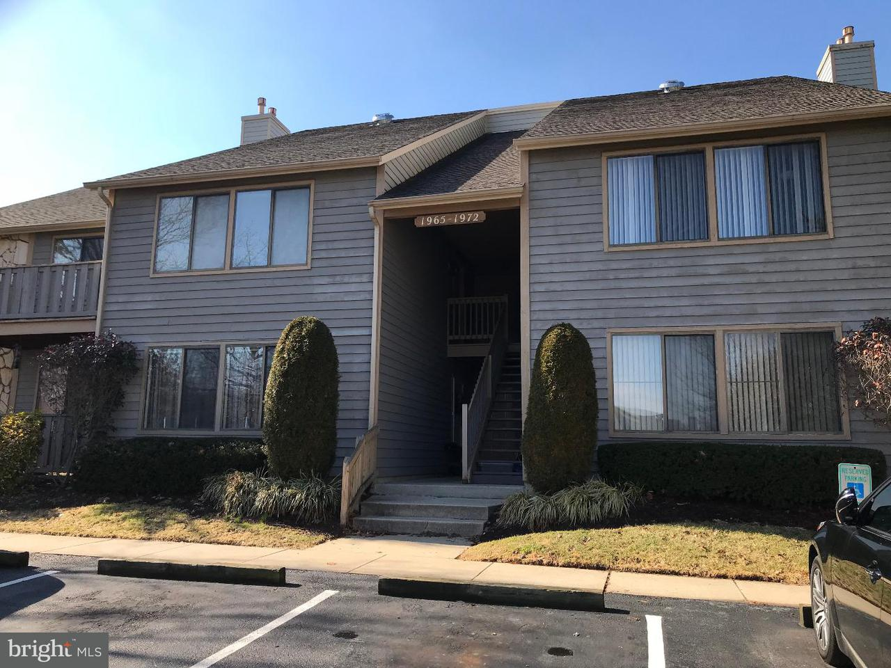 Single Family Home for Rent at 1972 THE WOODS I I Cherry Hill, New Jersey 08003 United States
