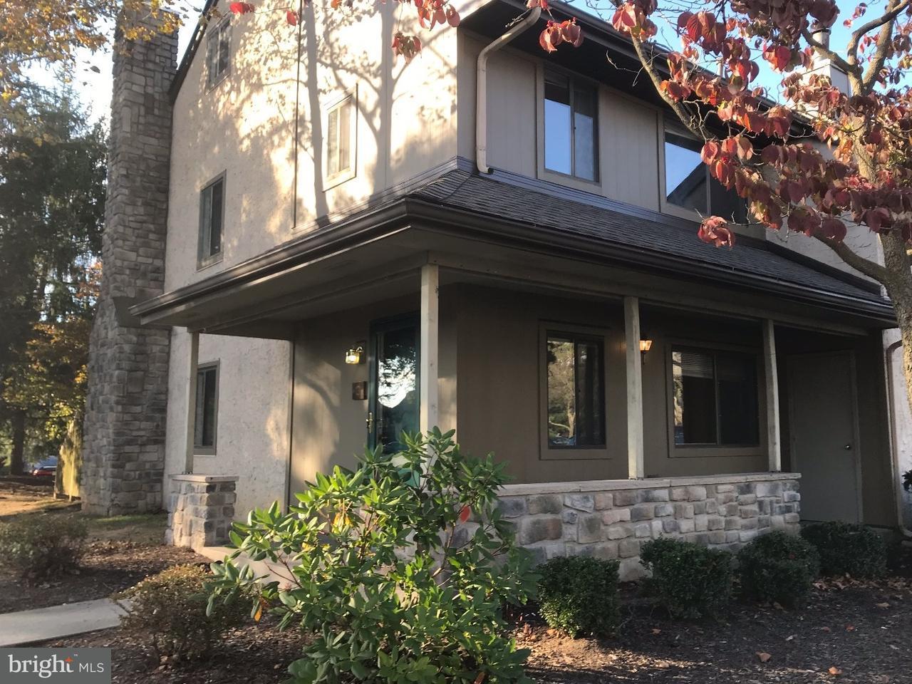 Maison accolée pour l à louer à 3 HAMPSHIRE Drive Plainsboro, New Jersey 08536 États-UnisDans/Autour: Plainsboro Township
