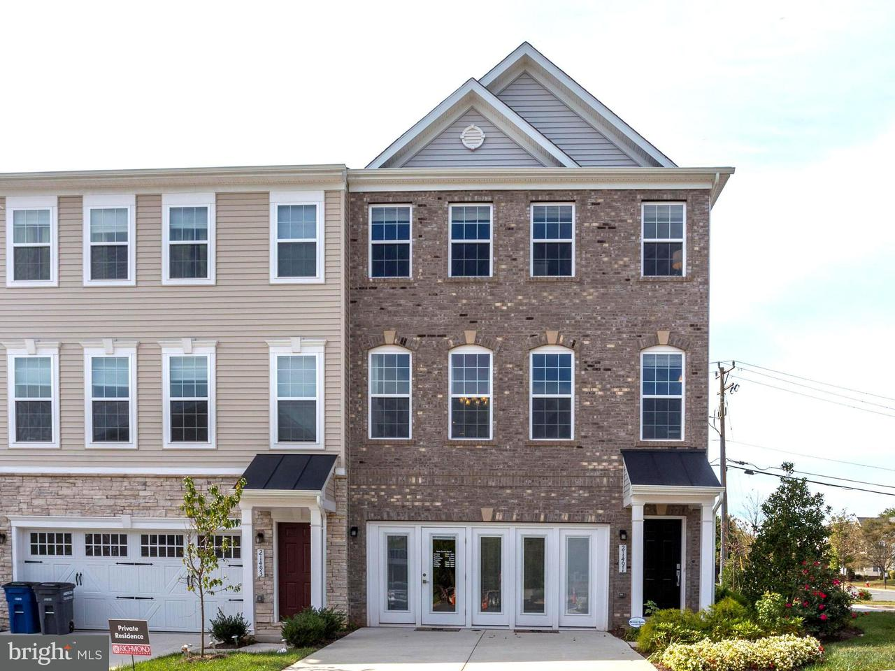 Townhouse for Sale at 21491 WILLOW BREEZE SQ 21491 WILLOW BREEZE SQ Ashburn, Virginia 20147 United States