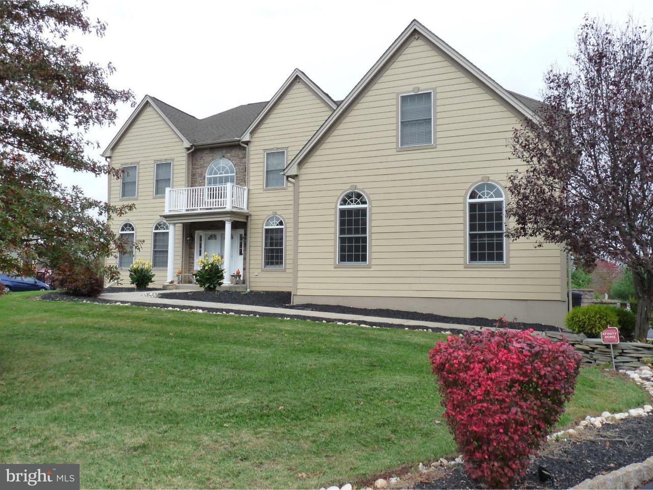 Частный односемейный дом для того Аренда на 1401 HAMPSTEAD Court Blue Bell, Пенсильвания 19422 Соединенные Штаты