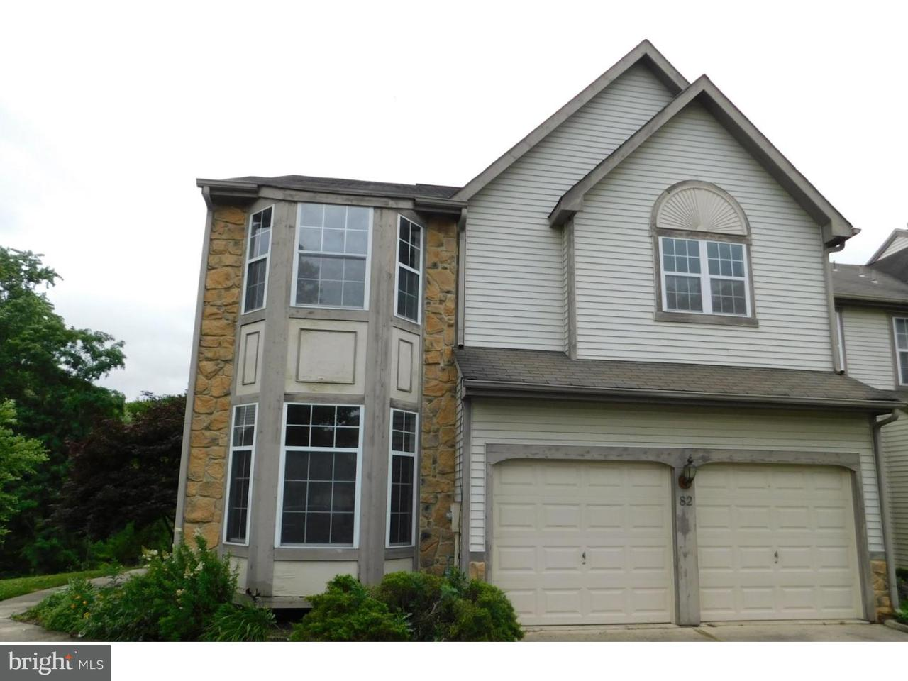 Townhouse for Sale at 82 SANDHURST Drive Mount Laurel, New Jersey 08054 United States