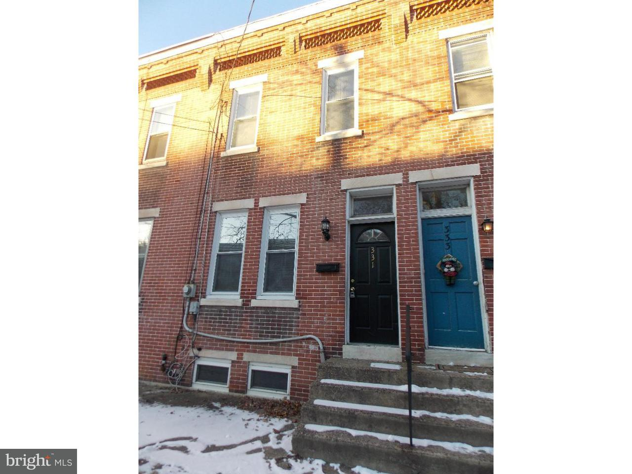 Townhouse for Rent at 331 BARCLAY Street Burlington, New Jersey 08016 United States