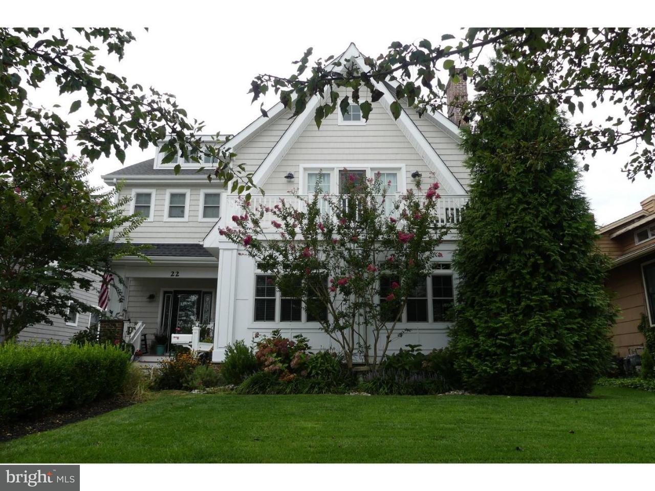 Maison unifamiliale pour l Vente à 22 SPRUCE Road Ocean City, New Jersey 08226 États-Unis