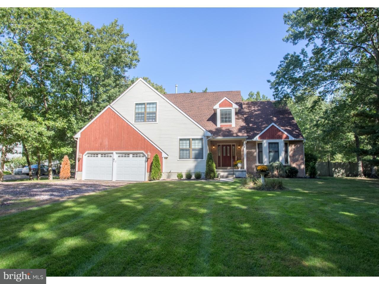 Maison unifamiliale pour l Vente à 61 E FLEMING PIKE Winslow, New Jersey 08037 États-Unis