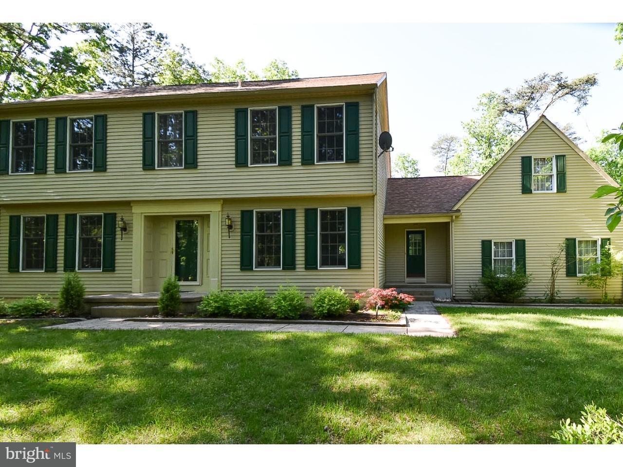 Частный односемейный дом для того Продажа на 95 FLYATT Road Shamong, Нью-Джерси 08088 Соединенные Штаты