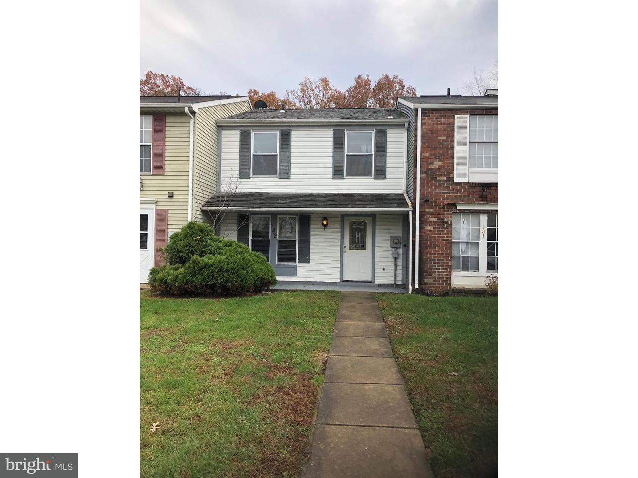 Townhouse for Rent at 129 VILLA KNOLL Court Sicklerville, New Jersey 08081 United States